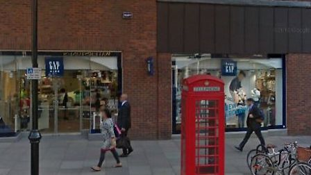 The phone box on front of Gap Kids on Hampstead High Street will be a mobile phone repairs shop.