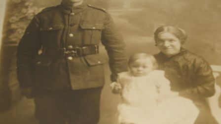 Albert Read served with the 11th Battalion Queens West Surrey Regiment. Picture: Courtesy of Shannon