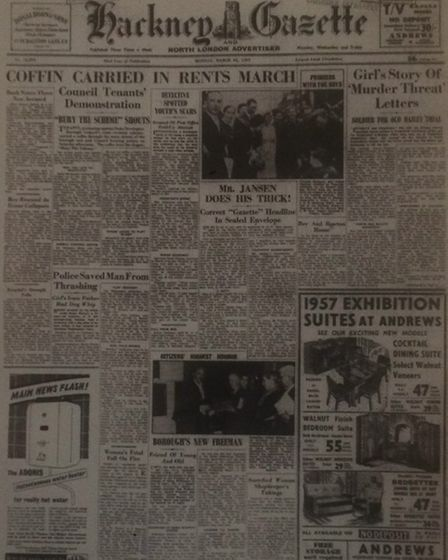 The Gazette 60 years ago