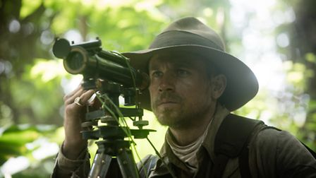 Charlie Hunnam as Colonel Percy Fawcett. Picture: AIDAN MONAGHAN