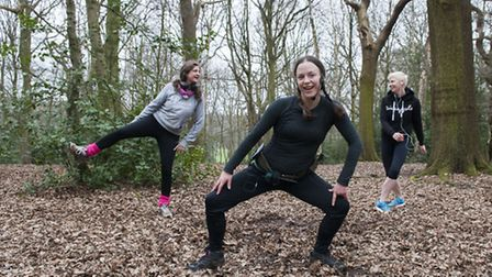 Stacey Cohen's London Jungle Runners. Picture: Nigel Sutton