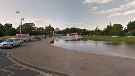 The motorbike and car collided near Whitestone Pond Picture: Google