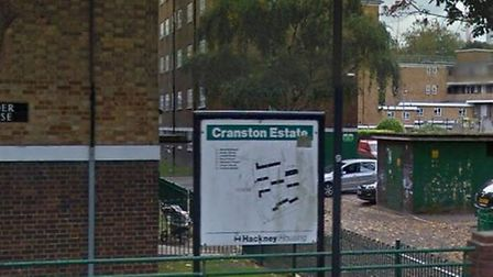 The man was found dead in a a block of flats in the Cranston Estate, Hoxton. Picture: Google Maps
