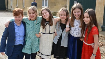Coleridge winners Will Jacobs, Tilly Jacobs, Ruby Davis, Sonia Ostrovsky, Amber Griffiths-Rowe and E