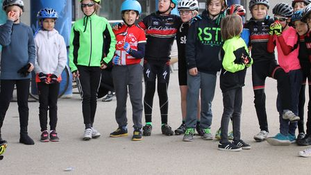 Students from Millfields Community School and Jubilee School took part in a gruelling cycle around t