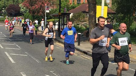 Runners on Priory Road. (Photo: YMCA North London)