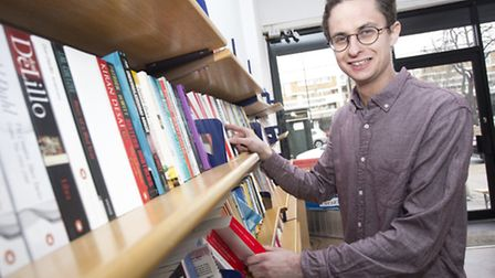 Sam Fisher, from Burley Fisher Books, opens a new bookshop at 400 Kingsland Road, Hackney.