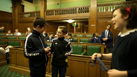 Acland Burghley bagged first place in the Camden Debating Challenge.