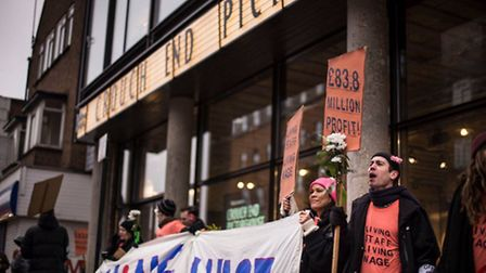 Crouch End Picturehouse have launched a petition and striking asking for a living wage