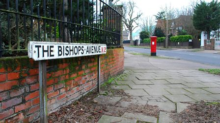 Wealthy families are choosing to rent on The Bishops Avenue to save money on stamp duty. Photo credi
