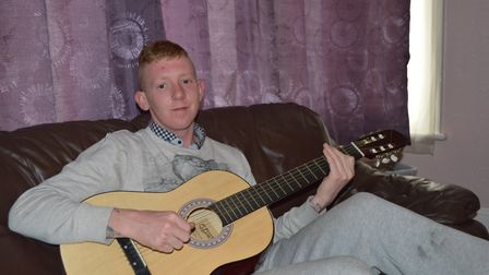 Rikki, who is turning his life around with the help of Access Community Trust, and has started volun