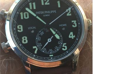 A Patek Philippe watch was stolen from a Highgate property in a £100,000 haul