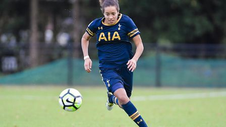 Tottenham Ladies' Leah Rawle. Picture: WUSPHOTOGRAPHY.COM
