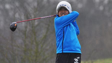 Hendon Golf Club's Manato Nakatani made it through to the British Junior Golf Trophy Super Six Serie