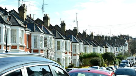 Homes in Crouch End, Haringey, where house values have far outstripped earnings