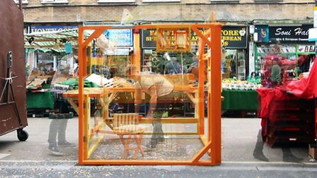 The Latin Corridor by Studio Gil and Carnaval del Pueblo at the London Festival of Architecture
