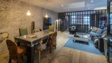 This mews house comes with an unusual bonus feature