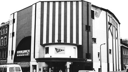The Rio Cinema in the 1980s. Picture: Andrew Holligan