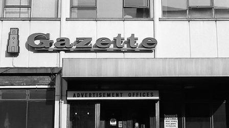 The Gazette offices in Kingsland Road. Picture: Andrew Holligan