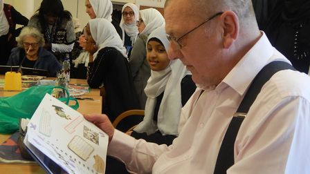 Tayyibah Girls School created 'This is your life' style autobiographies for St Joseph's Hospice pati