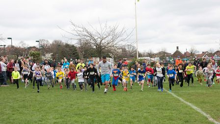 Highgate Primary School held a fun run to drum up funds for its children centre.