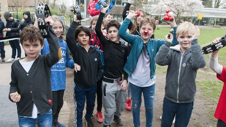Red Nose Day at King Alfred School.