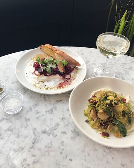 Dishes at Exmouth Market Grind