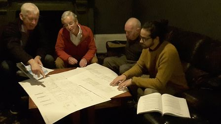 The central and south Hackney conservation area advisory committee in action. Picture: Mike Hood