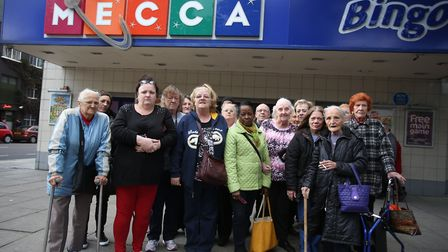 Residents are angry because Mecca Bingo in Hackney is closing down