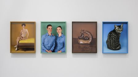 A section of Elad Lassry's work in You Are Looking at Something That Never Occured. Picture: Thierry