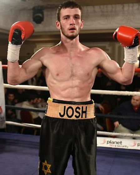 Joshua Burnham is tipped to succeed as a middleweight champion