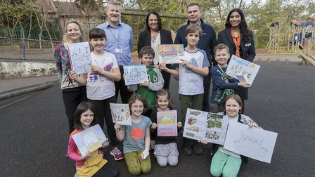 Pupils at Highgate Primary School have been awarded prizes by developer Bellway Homes for their crea