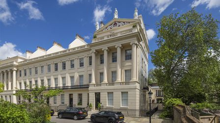 Gloucester Gate is currently on the market at �4,950,000