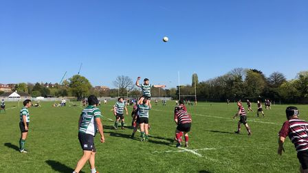 Hendon's 29-23 win was enough to relegate UCSOB from Herts Middlesex One.