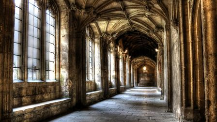 Mylands paints helped to create the halls of Hogwarts
