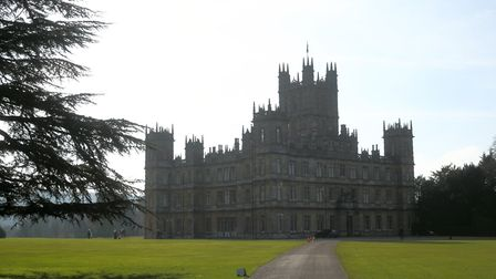Downton Abbey was daubed in Mylands paint for the creation of the hit period show