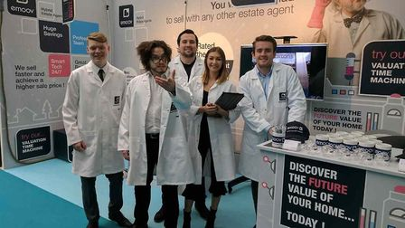 Emoov sent a team of algorithm whizzes to the Ideal Home Show