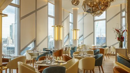 The Urban Coterie restaurant at the M By Montcalm in Shoreditch. Photo: David Cabrera