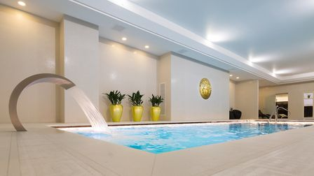 The spa at the M By Montcalm in Shoreditch. Photo: David Cabrera