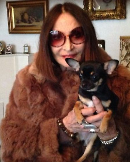 Eunice Barth, who lives in Charlbert Court, was left terrified that her chihuahua would be killed. P