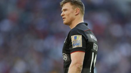 Saracens' Chris Ashton should be looking towards a future that includes a spot on the British & Iris