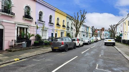 The last street in Camden has that all important NW1 postcode. PHOTO: Hotblack Desiato