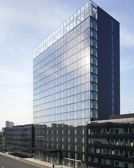 20 Eastbourne Terrace has been awarded the title of Best Recycled Workplace at the BCO Regional prop