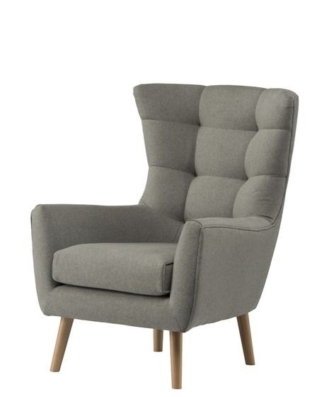 Wing accent chair, £600, natural, available from Kelly Hoppen