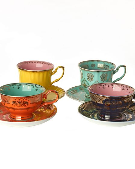 Pols Potten tea cup and saucers, £21.50, SCP