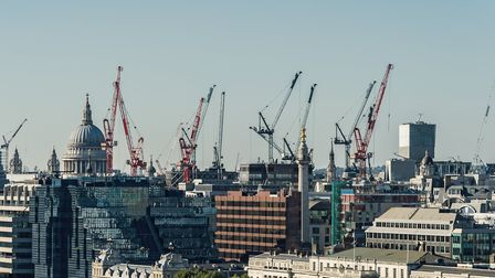 Cranes are going up all over London, and four out of 10 new builds will be leasehold properties