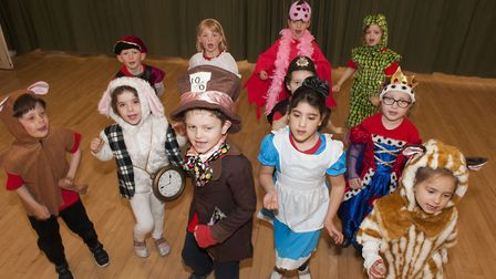 An Alice in Wonderland Easter holiday workshop was held at Highgate United Reform Church.
