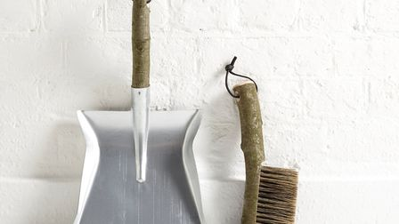 Geoffrey Fisher table brush and pan, £45, The New Craftsmen