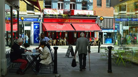 Cafe culture is a key part of Hampstead's aesthetic