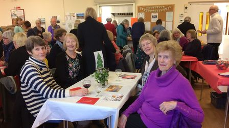 A Christmas charity lunch was held for East Anglia`s Children`s Hospices at Pakefield. Picture: Hel